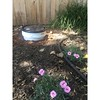 This is a Food Digester. Probably the most passive (read: easiest) ways to compost. I used a 5 gallon paint bucket, but any plastic or metal container with a tight lid will work. Remove the bottom and bury into the ground. Fill with food scraps and other