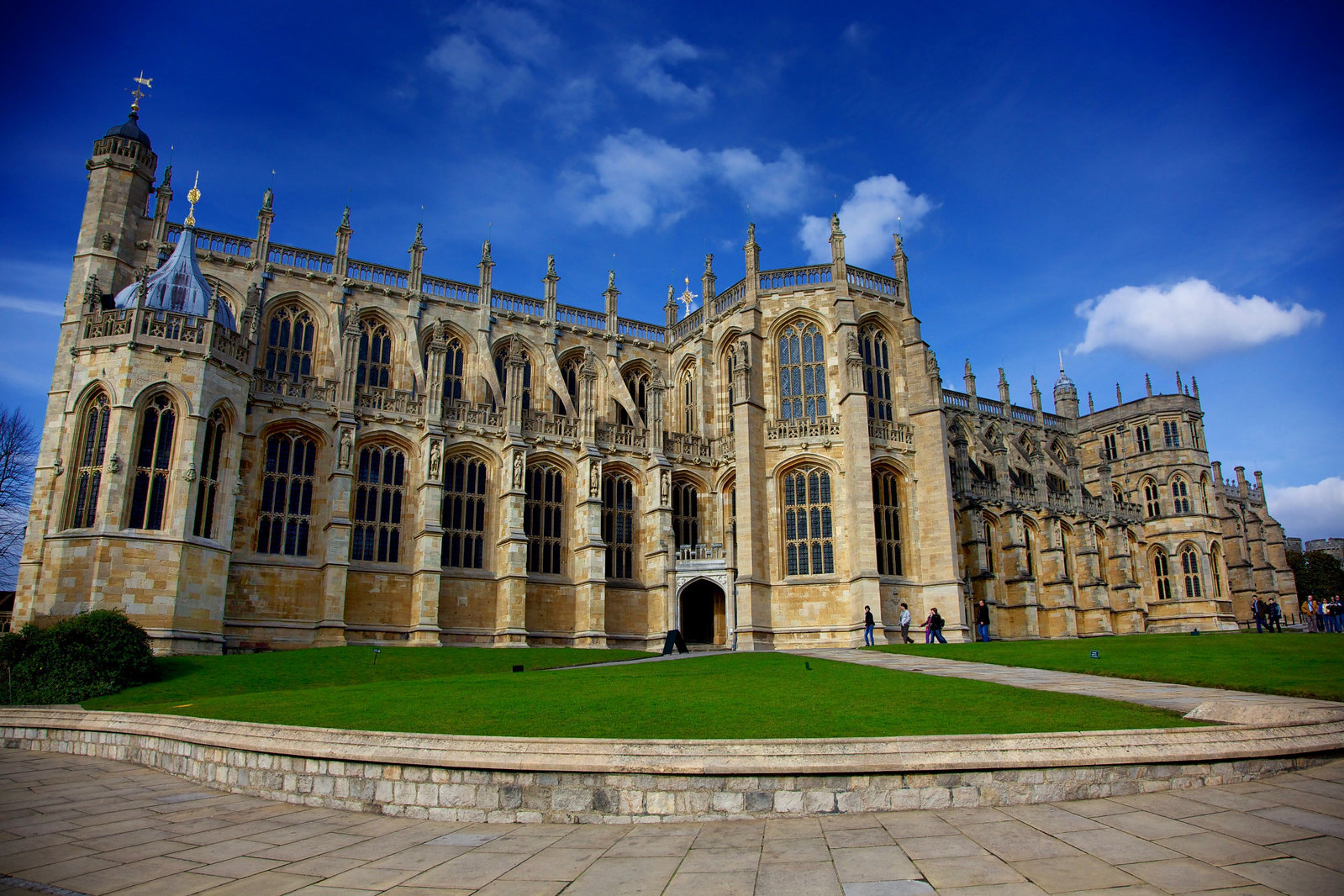 St. Georges Chapel, Windsor Castle. Credit Aurelien Guichard