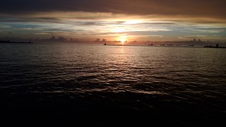 Image of  西子灣. ocean sea sky sun clouds taiwan kaohsiung 台灣 高雄 雲 海 天空 西子灣 2016 黃昏