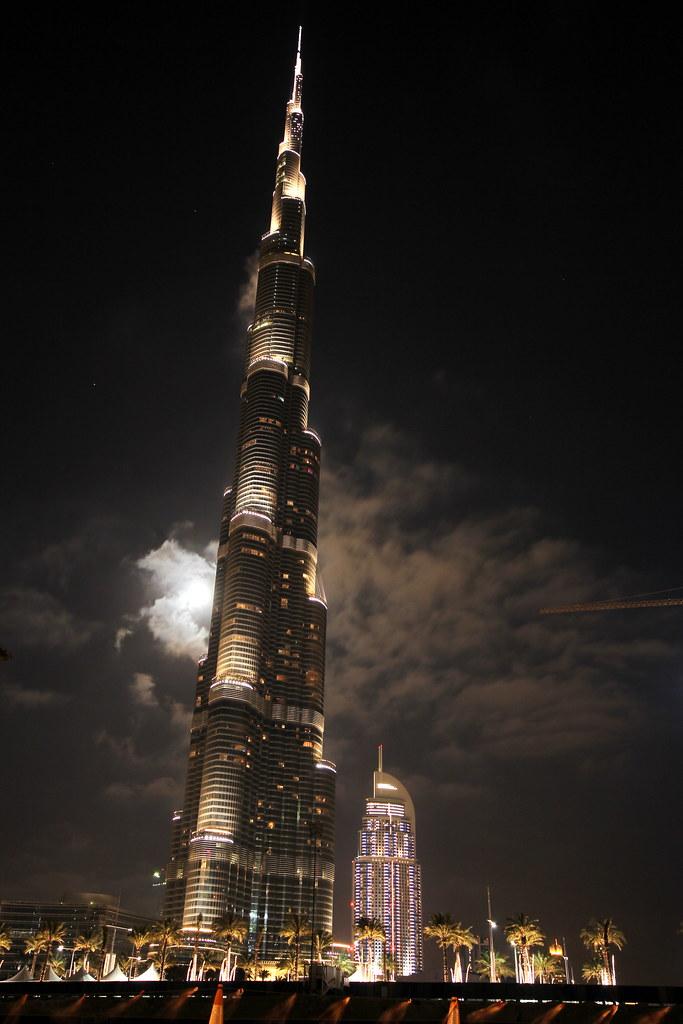 Burj Khalifa: Traffic View