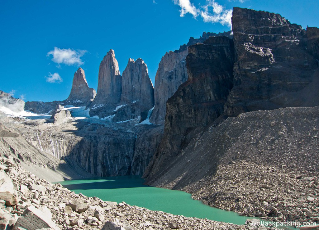 The Three Towers of Paine (Torres del Paine)