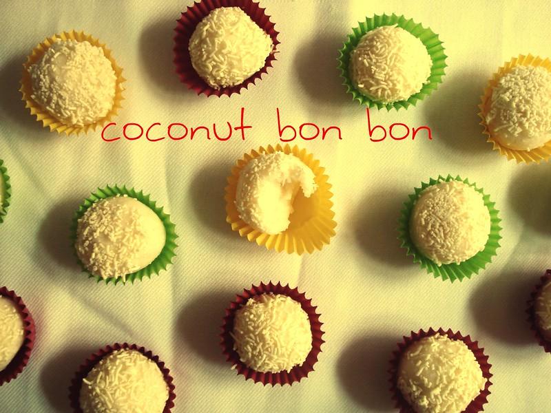 coconut bon bon