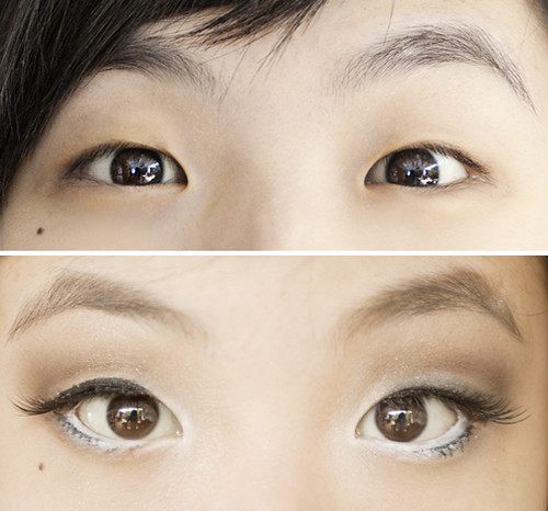 How to create double eyelids with makeup project vanity for Japanese tattoo eyeliner