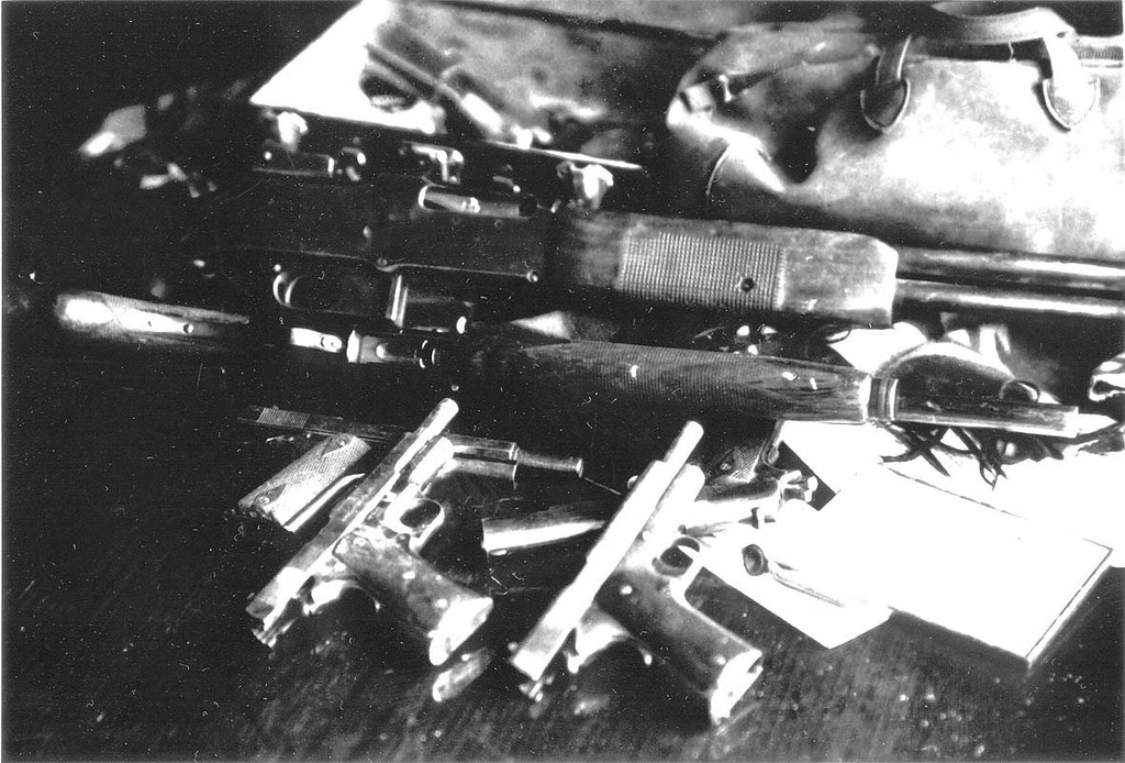 Bonnie & Clyde Guns | Guns that were taken from the car afte