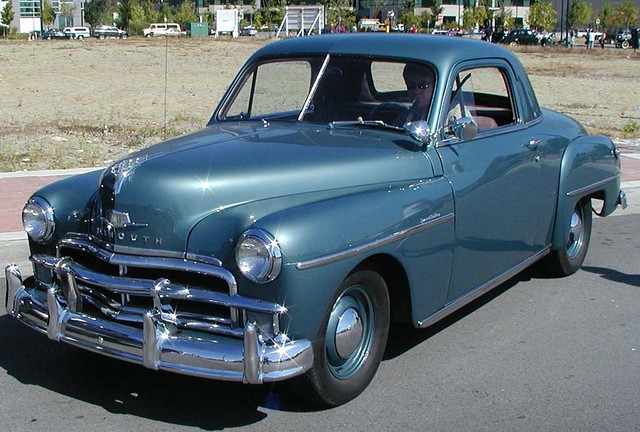 1952 Plymouth Business Coupe Concord ■ 2 Door Business