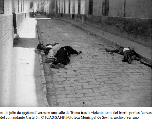 Cadáveres en el barrio de Triana (Sevilla)