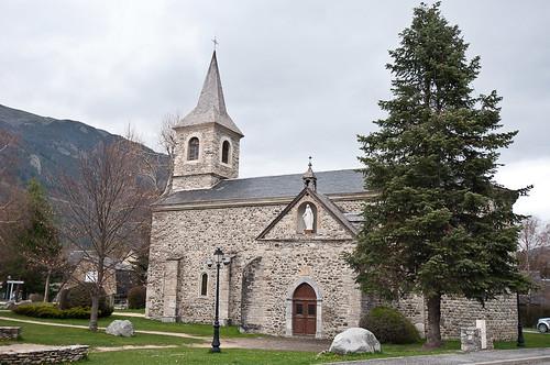 La Iglesia de Santa María en Saint Lary
