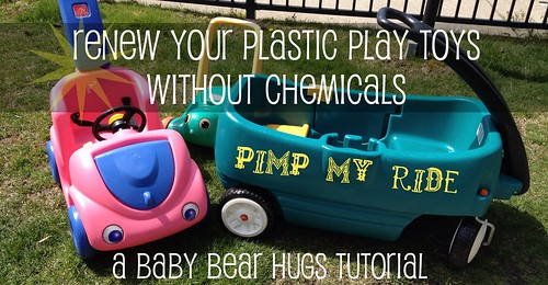 renew your plastic play toys