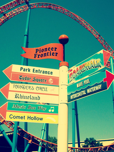 Amusement Park Signage!