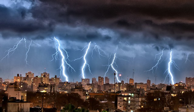 Rayos sobre Buenos Aires XXII - Lightnings over Buenos Aires XXII
