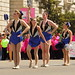 marching band baton twirlers 3 by Journey of A Thousand Miles