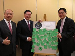 香港富豪機場酒店承諾餐廳均使用可回收材料(Annie Wong提供)