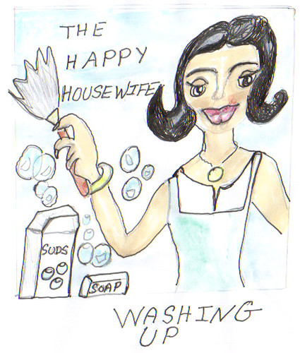 The Happy Houswife-Washing up