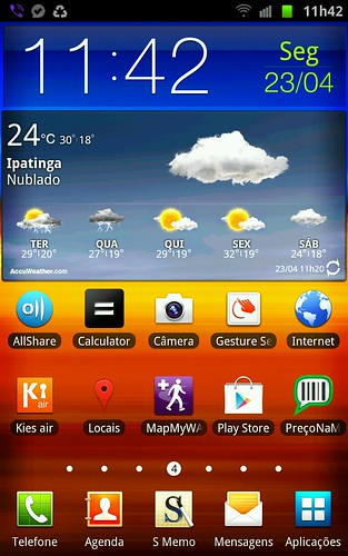 samsung Note -Home Screen by Rogsil