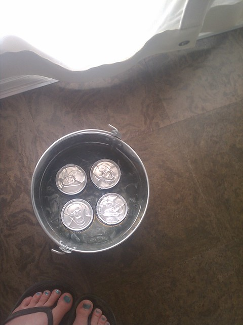 bucket of beers