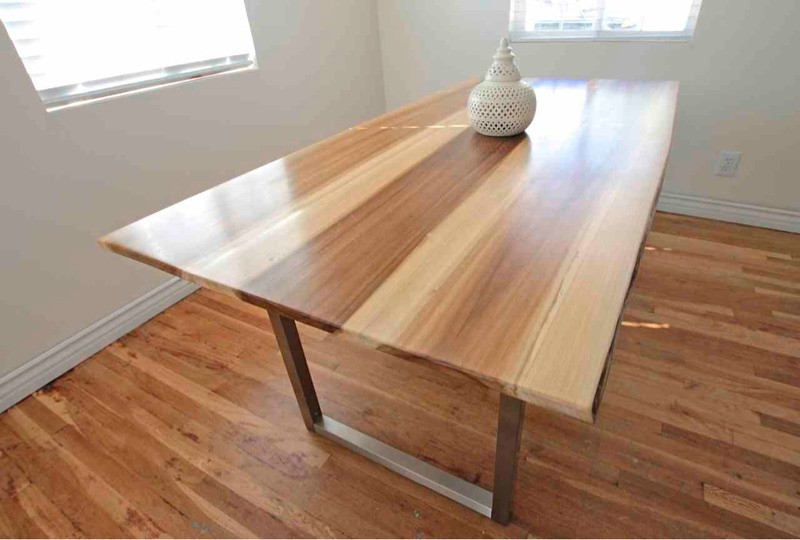 Ceasar dining tables monkwood for New line in the table