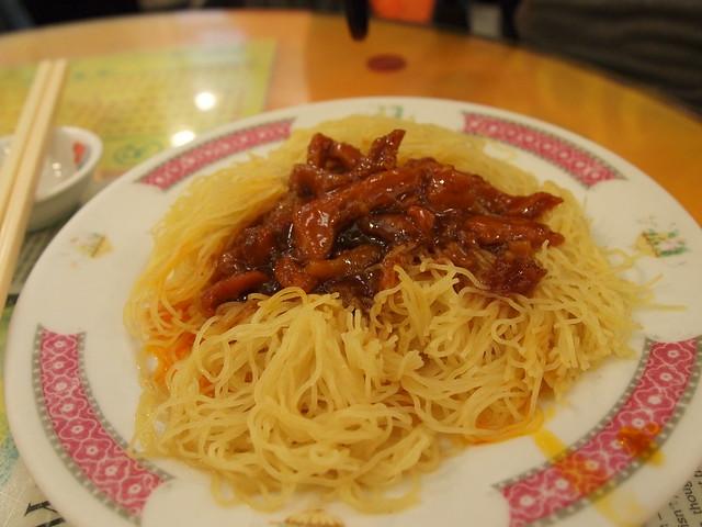 炸醤麺 @ Mak's Noodle