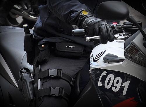 Cuerpo Nacional de Policía - Motoristas Alazanes