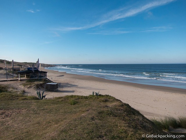 Beach at Punta del Diablo