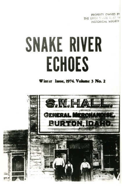 Snake River Echoes cover