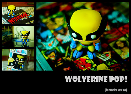 Wolverine Pop! by {israelv}