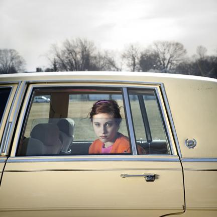 Cig Harvey, The Pale Yellow Cadillac, Sadie, Portland, Maine, 2010