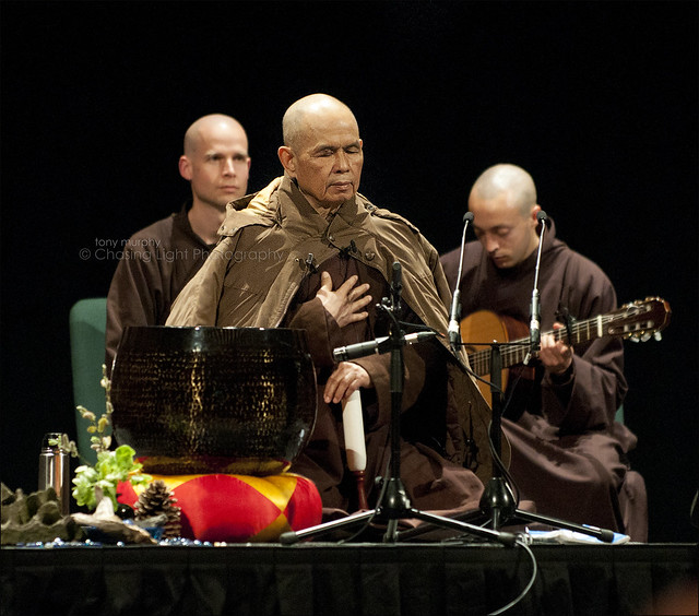 "Thich Nhat Hanh - ""The Miracle of Mindfulness"" in the Dublin Convention Centre (16 photos) TM2_0089"