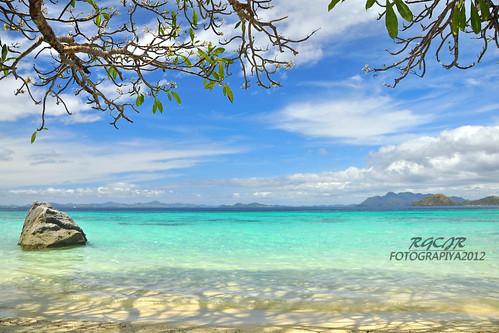 seascape landscape coron palawan banol banolbeach