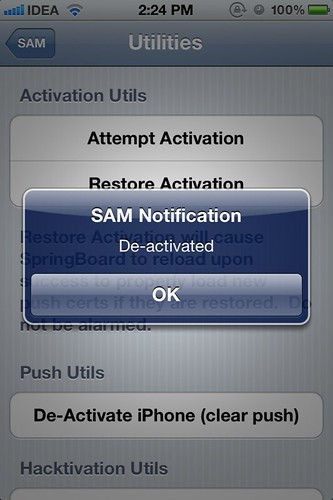 SAMPrefs - Deactivated
