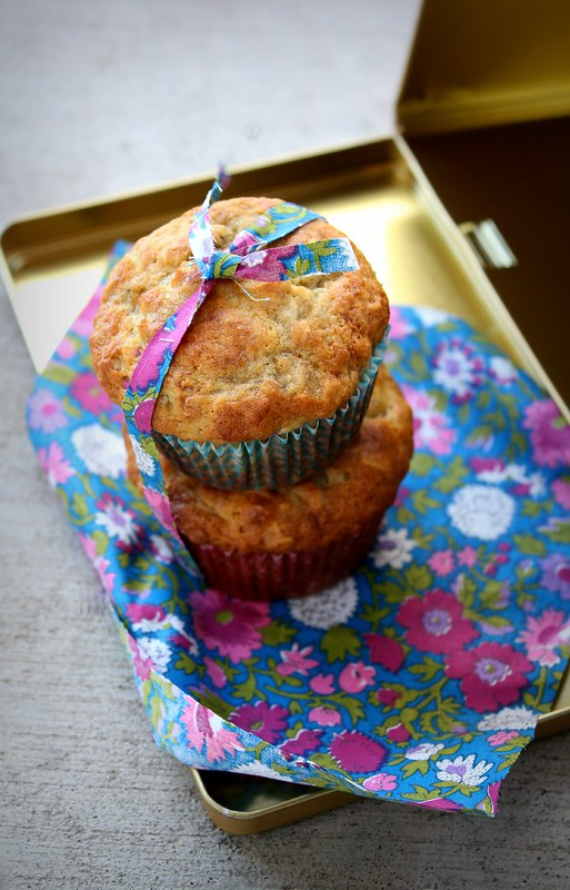 Buttermilk Banana & Oat Muffins