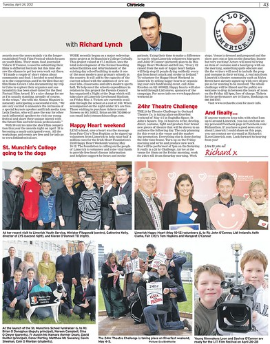 I Love Limerick Chronicle Column 24 April 2012 Page 2