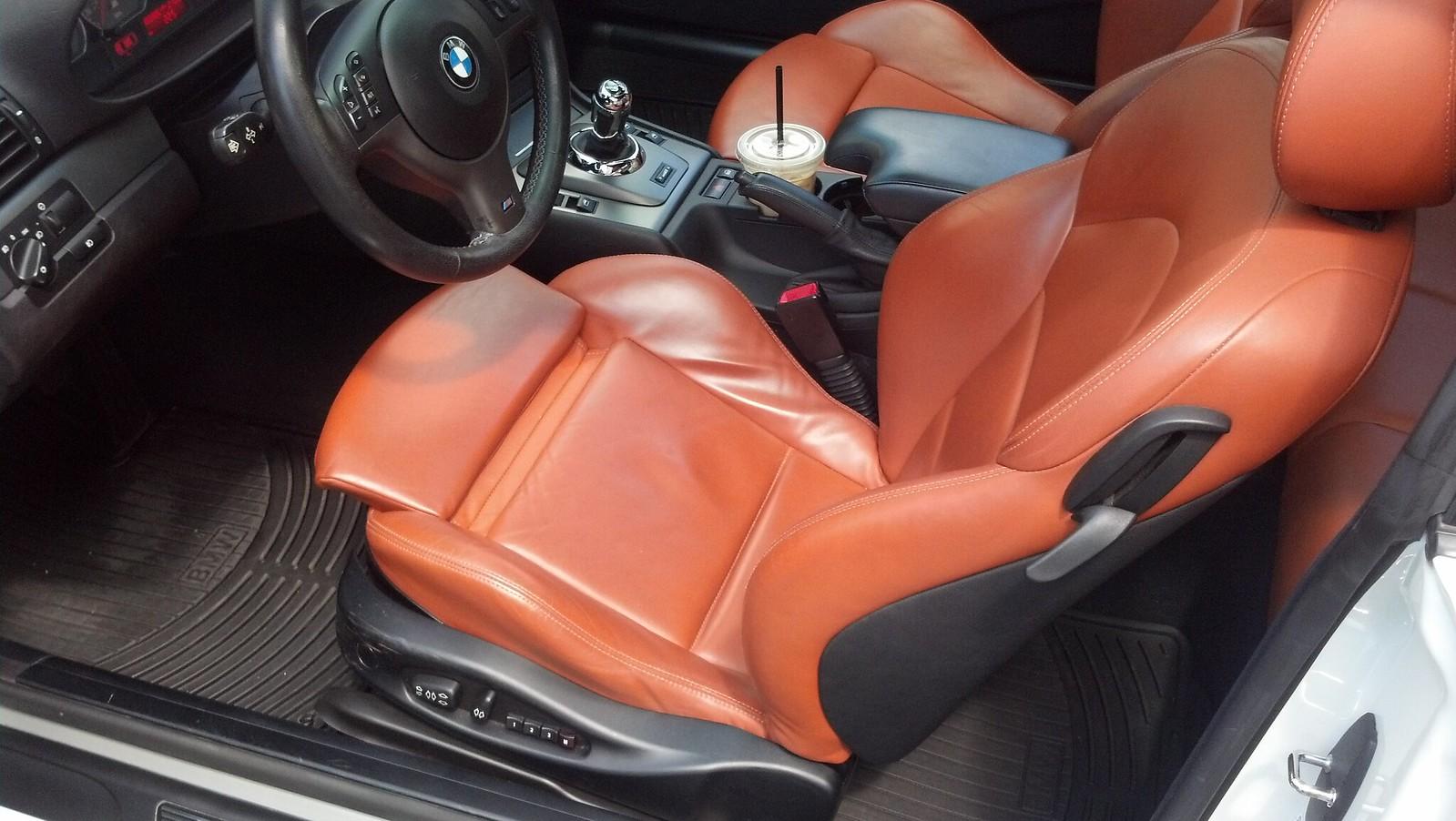 2005 BMW M3 Alpine white On cinnamon coupe - E46Fanatics