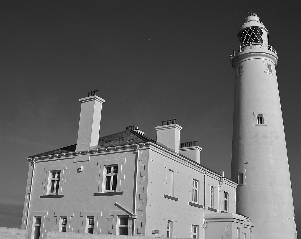 St Mary's Lighthouse, Whitley Bay, North East England