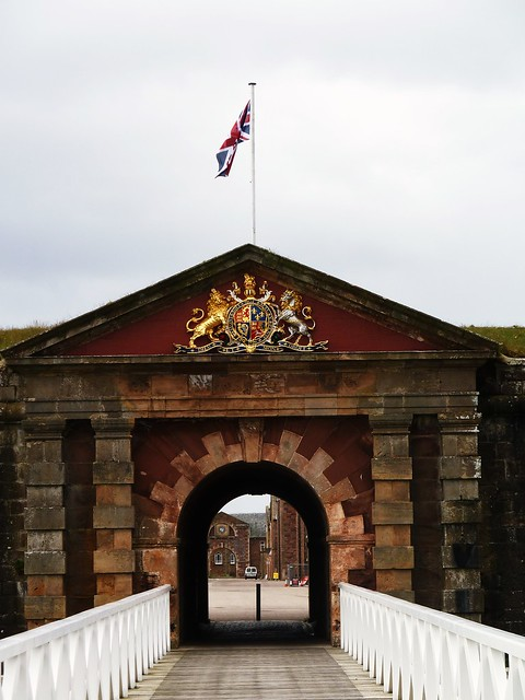 Entrance to Fort George