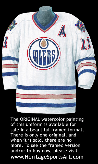 half off 585c1 b20db Edmonton Oilers 2001-02 road jersey artwork | This is a high ...