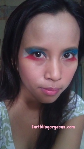 EG FOTD Eye Wear My Filipino Flag Proud look