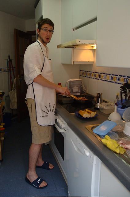 132/366: Cazado en la cocina