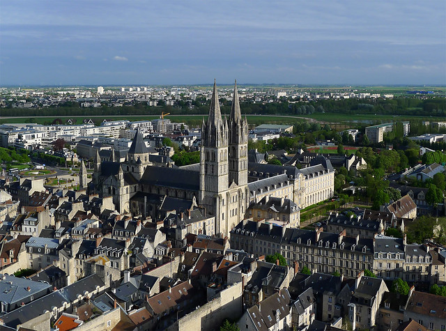 Abbaye aux Hommes de Caen (Calvados-FR)