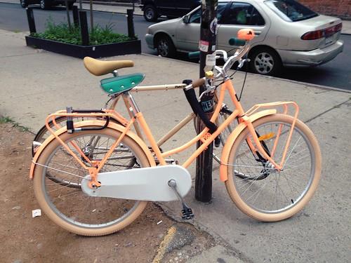Peach bike!