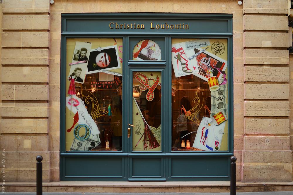 meilleure valeur fc6da 9edaf Party at Louboutin — Paris in Four Months