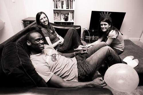 Melanie, Gregory, Alicia