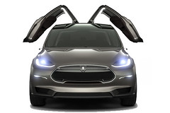 Tesla Motors - Model X Wings