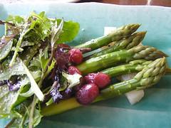 asparagus & potato salad
