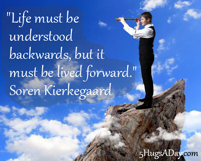 Understanding Life Backwards via @deborahinfo | 5HugsADay.com