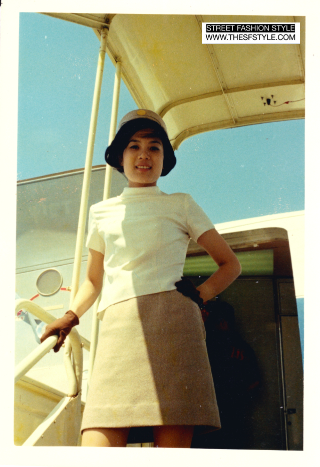 mom1 sixties, 1960s, 60s, stewardess, pan am, air hostess, mother's day, street fashion style,