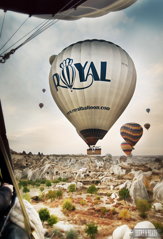 Hot Air Balloon Ride with Royal Balloon