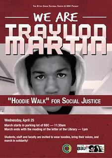 OC3 Trayvon Martin HoodieWalk