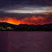 Enflamed Foothills of the Hewlett Fire by Fort Photo