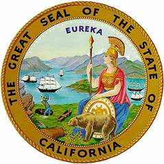 Photo: seal of the state of California