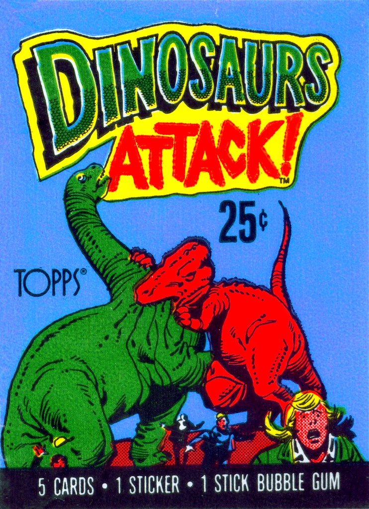 Dinosaurs Attack! Wrapper - 3